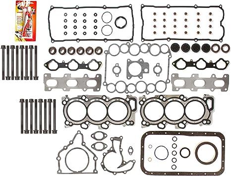 Head Gasket Set Bolts Fits 04 Isuzu Axiom Rodeo 3.5L V6 DOHC 24v 6VE1