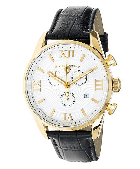 Yg Swiss De Cuarzo Reloj Analógico Belleza 22011 Legend 02 Blk Y7bgyIf6vm