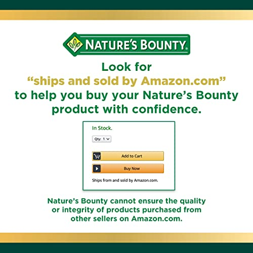 Nature s Bounty Echinacea Complex Pills and Herbal Health Supplement, Supports immune Function, 450mg, 100 Capsules