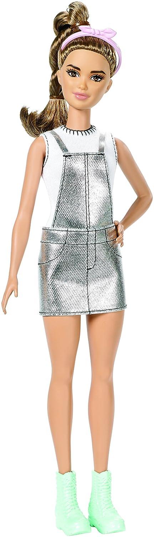 Barbie Fashionista Mono Plateado (Mattel DYY92): Amazon.es: Juguetes y juegos