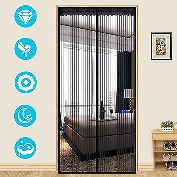 aef60ab8af79a Moustiquaire Magnétique pour La Porte Rideau Anti Moustique Anti Insectes -  Polyester / Velcro / Fermeture