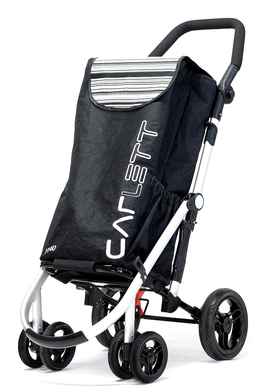 Carlett Carro, Aluminio, Negro, 30x42x67 cm: Amazon.es: Salud y cuidado personal