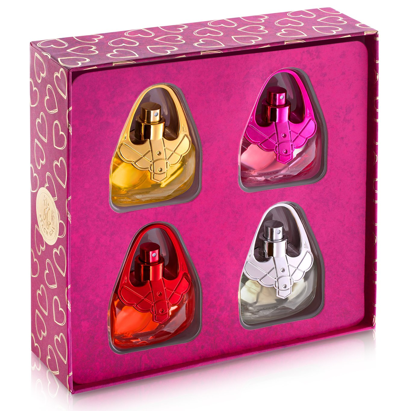 Eau De Fragrance Perfume Sets for Girls- Perfect Body Mist Gift Set for Teens and Kids - Purses - 4 Pack by Scented Things (Image #2)