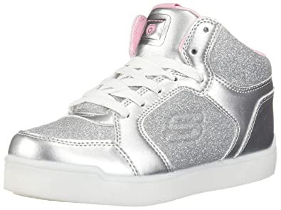 Energy Lights E Pro Glitter Glow High Top Sneaker