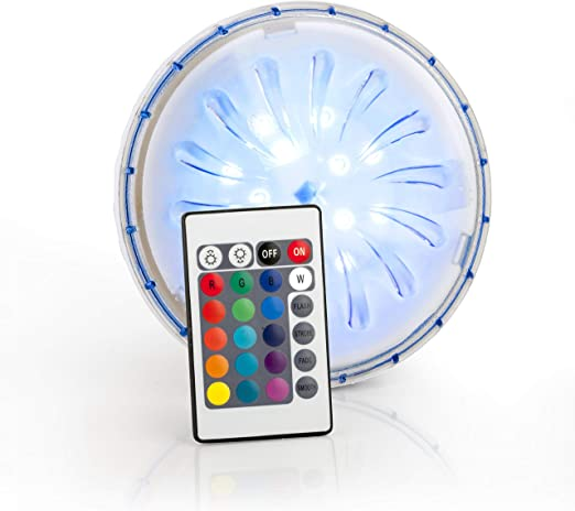 Gre PLED1C - Proyector Led Color para Piscina Elevada de Acero, 1 ...