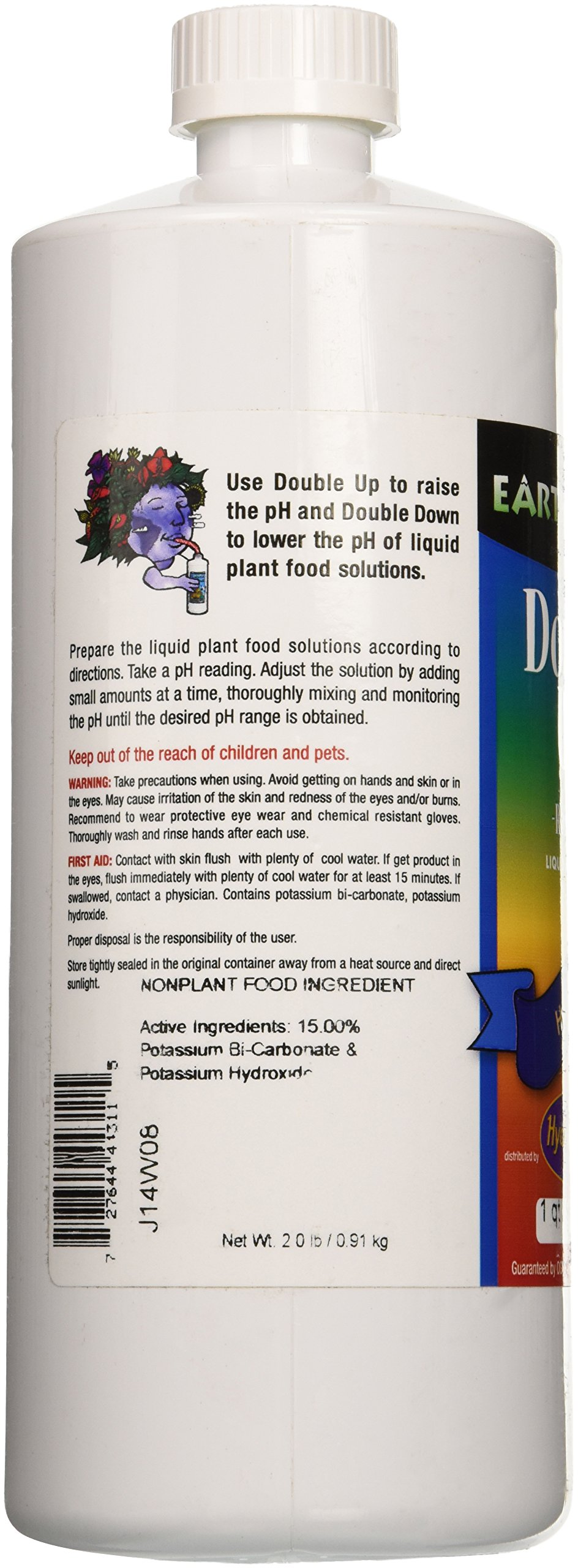 HydroOrganics HOH81101 1-Quart Double Up Liquid PH Adjuster by HydroOrganics (Image #3)