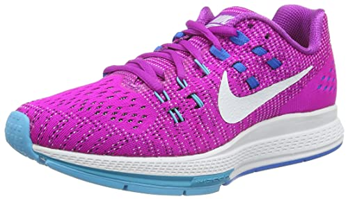online store 85b84 48093 Nike W Nike Air Zoom Structure 19, Women s Running Shoes, Blue (Hypr Vlt