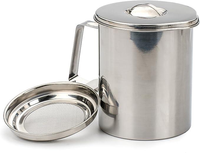 Fryer/'s Friend Pot Can Stainless Steel 4 Cup RSVP International Endurance ST-40FF