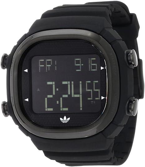 adidas Originals ADH2045 - Reloj digital de cuarzo para hombre con correa de caucho, color negro: Adidas: Amazon.es: Relojes