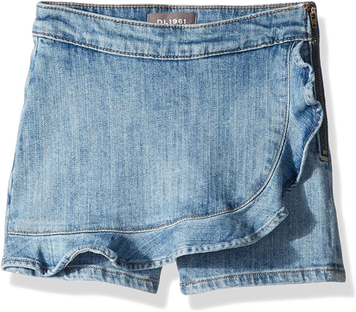 DL1961 Girls Big Piper Rolled Cuff Short