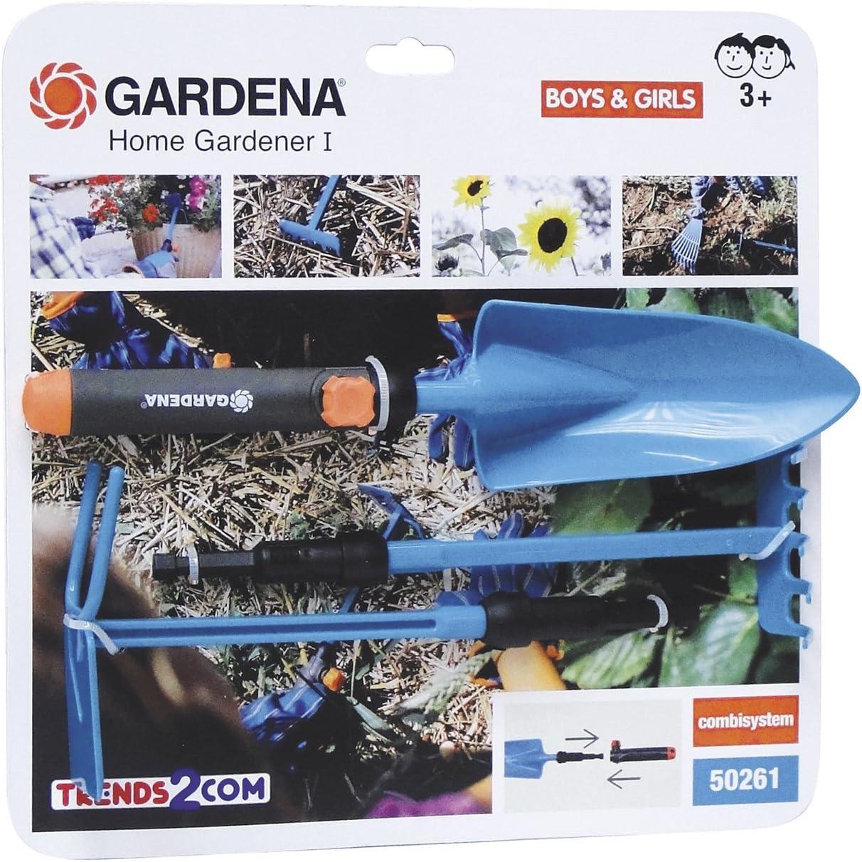 Chicos Gardena - Home Gardener I, Set de 3 Herramientas Intercambiables de jardín 89129