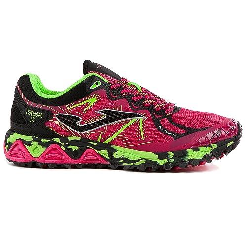 Sportime2 Joma TK Sierra 710 - Zapatillas de Trail Running para Mujer Fucsia: Amazon.es: Deportes y aire libre