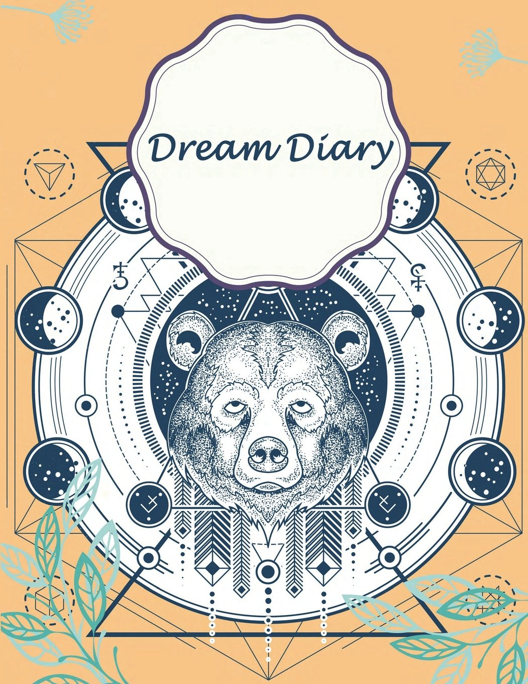"Dream Diary: Cute Bear Cover, Monitor Healthy Sleep Habits And Insomnia, Sleep Tracker Log Journal 120 pages 8.5"" x 11"" PDF ePub book"