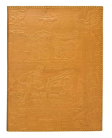 353887330e33 Rustic Town Refillable Handmade Vintage Antique Looking Genuine Leather  Journal Diary Notebook for Men Women Gift for Him Her (Golden Cart)   Amazon.in  ...