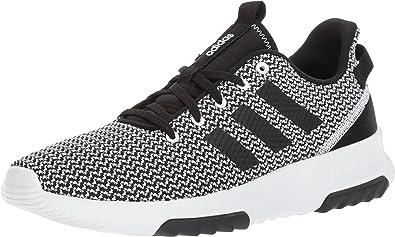 Adidas Men's Cf Racer Tr Hiking Shoes, White/Black/White, 11.5 M ...