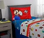 Nintendo Juego de sábanas Super Mario con Tapas, 3 Unidades
