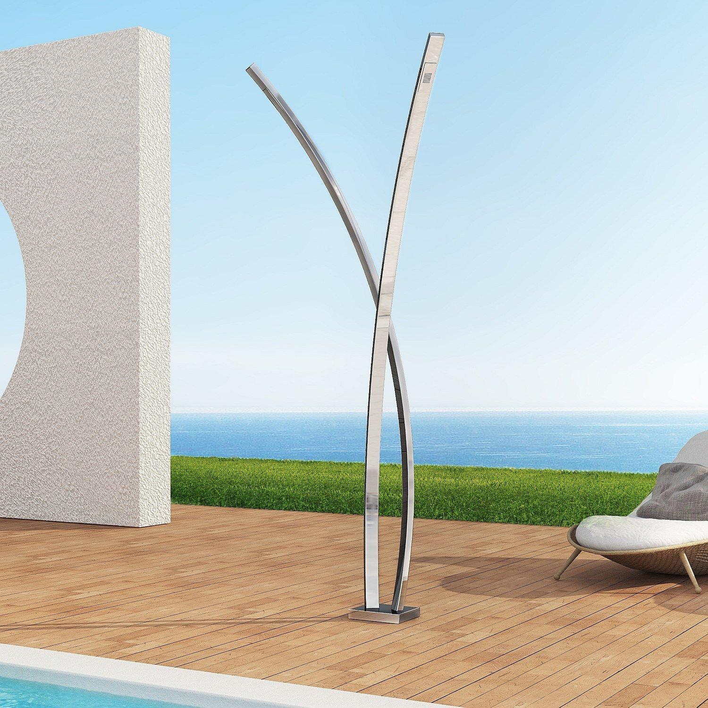 Acero inoxidable Exterior Ducha/Ducha para jardín Preludio S ...