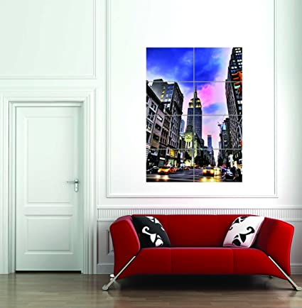 NEW YORK IMAGE  HUGE LARGE WALL ART POSTER PICTURE