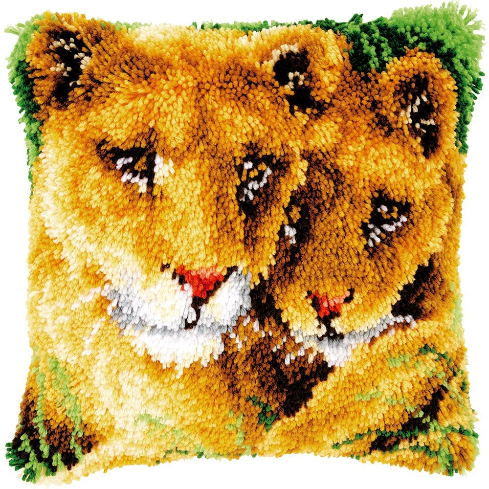 25 Modell Latch Hook Kit Animal Cushion Cover DIY Craft Needlework Crocheting Cushion Embroidery BZ038 BYT Collection