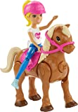 Barbie On the Go Caramel Pony and Doll