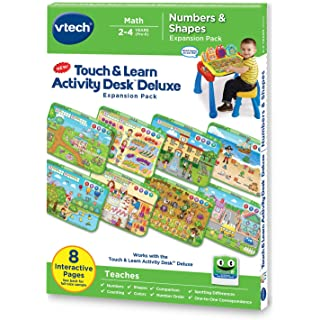 VTech Touch and Learn Activity Desk Deluxe Expansion Pack - Numbers and Shapes