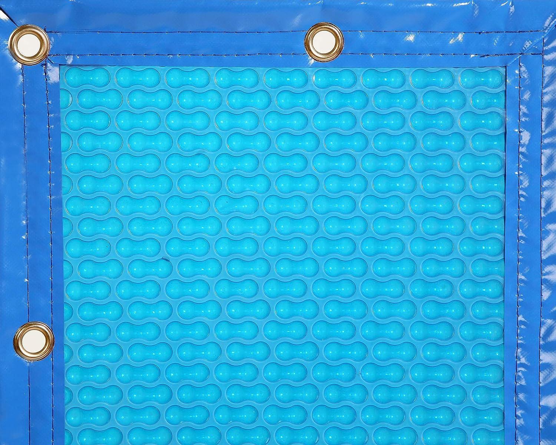 INTERNATIONAL COVER POOL Cobertor T/érmico 600 micras Eco para Piscina de 3 x 3 Metros sin Refuerzo