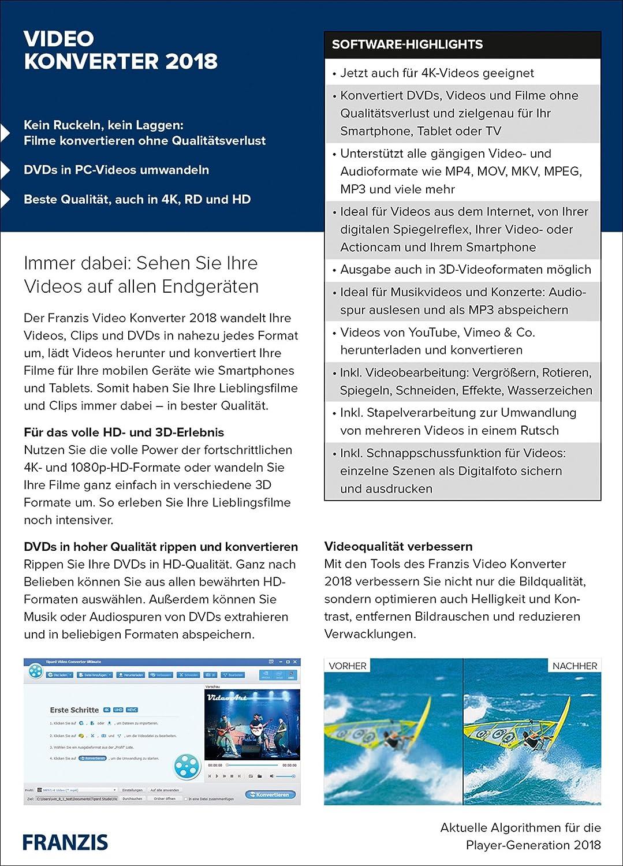FRANZIS Software: Franzis: Amazon.de: Software