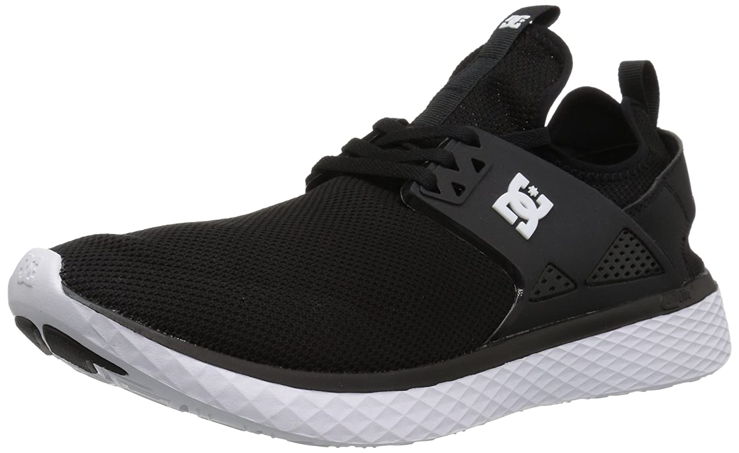 Man/Woman DC Men's Meridian Skate Shoe, Black Black Black White, D(M) US High-quality discount Quality and consumer first VW2942 85c45c