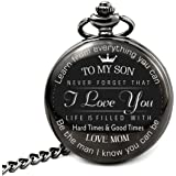 """ To My Son - Love Mom "" Never forget that i love you , Gift for Son from Mom"