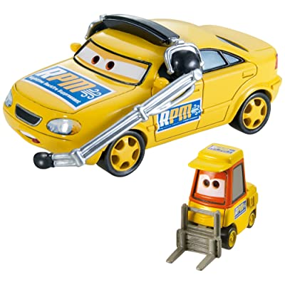 Disney/Pixar Cars Collector Die-Cast Vehicle (2-Pack), Chief RPM and Petrol Pulaski: Toys & Games
