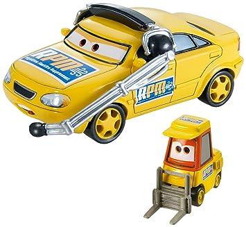 Disney Cars Cast 1:55 - Auto Vehículos Doppelpack a elegir - Chief RPM &