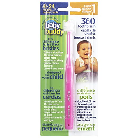 Baby Buddy 360 Toothbrush Step 1 Stage 5 for Babies/Toddlers
