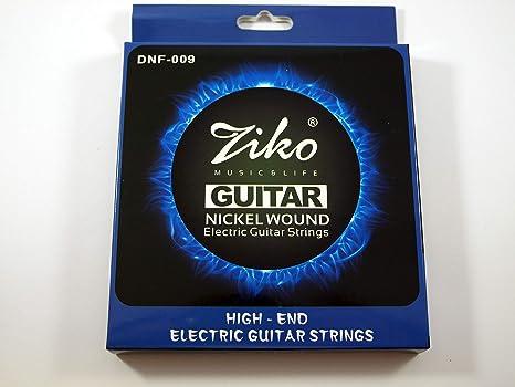 2 Juegos de cuerdas marca Ziko para guitarra eléctrica Modelo DNF ...