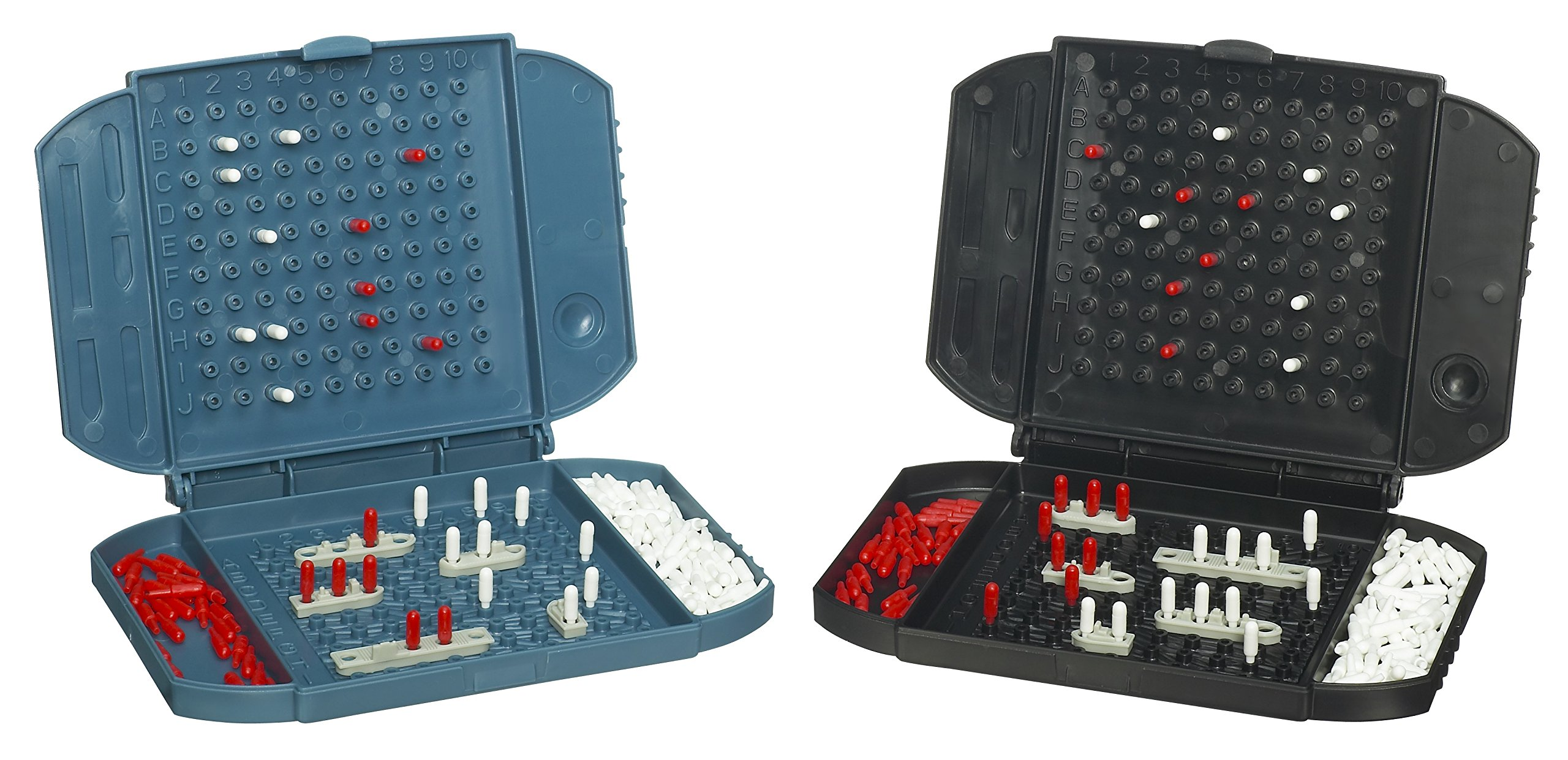 Hasbro Fun on the Run Battleship Travel Game