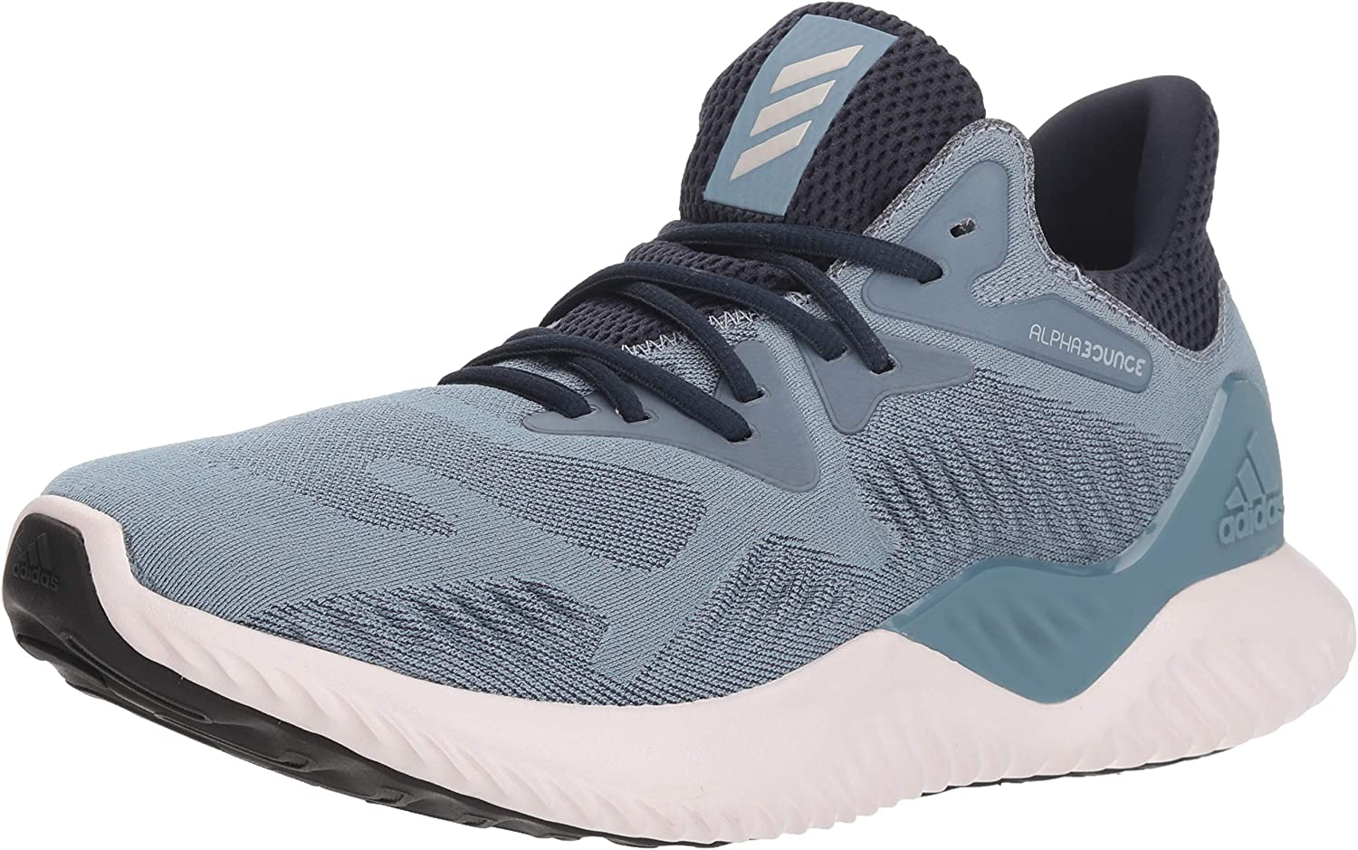 adidas Women s Alphabounce Beyond Running Shoe, raw grey orchid tint legend ink, 7.5 M US