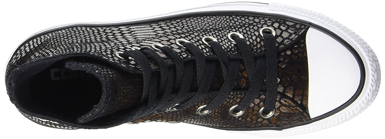Converse Ctas Hi Marronee nero nero nero bianca, scarpe da ginnastica a Collo Alto Unisex – Adulto | The King Of Quantità  4550fe