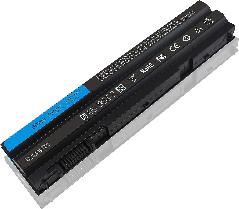 New T54FJ E6420 M5Y0X 60WH Laptop Battery for Latitude E5420 E5430 E5520 E5530 E6420 E6430 E6520 E6530 Inspiron 4420 4720 5420 5425 5520 5525 7420 7520 7720 N521R N4420 N4520 8858X