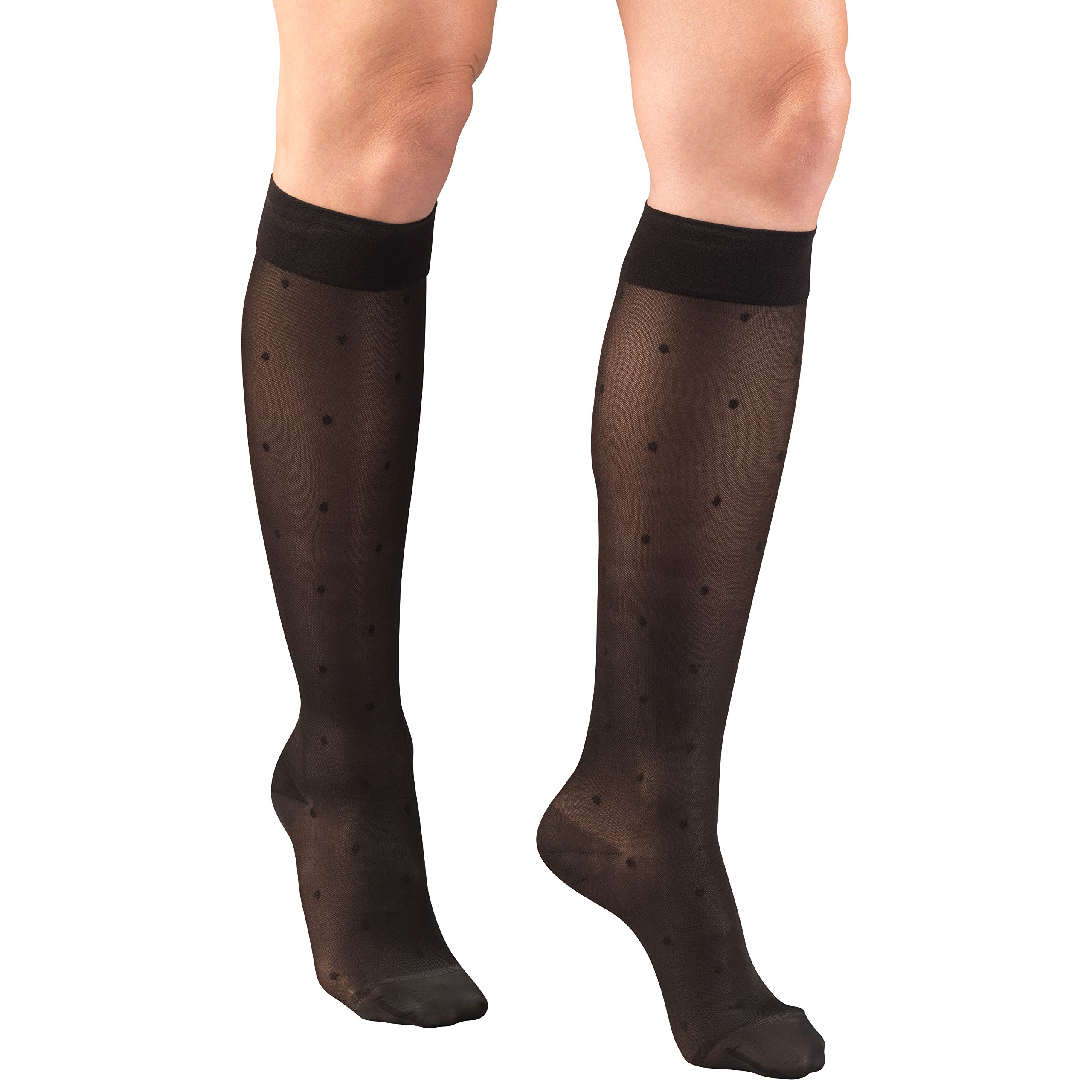 Truform Sheer Compression Stockings, 15-20