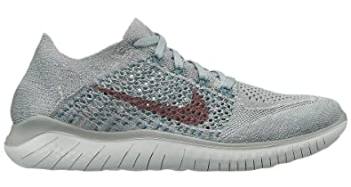 online retailer 3ccd6 4689b Image Unavailable. Image not available for. Color: Nike Womens Free Rn  Flyknit 2018 ...