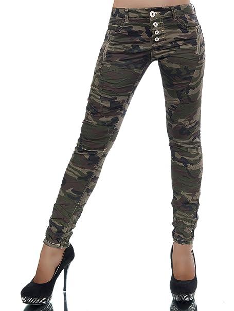 Pantalones Vaqueros Pantalón Vaquero L385 Para Army Mujer dCBrexoW