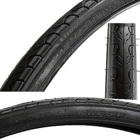 75f12c05602 Amazon.com   Kenda Kwest Black Tire 700x28c- 28x1 5 8x1 1 8   Sports ...