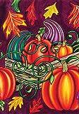 Toland Home Garden  Fall Gourds 28 x 40-Inch Decorative USA-Produced House Flag