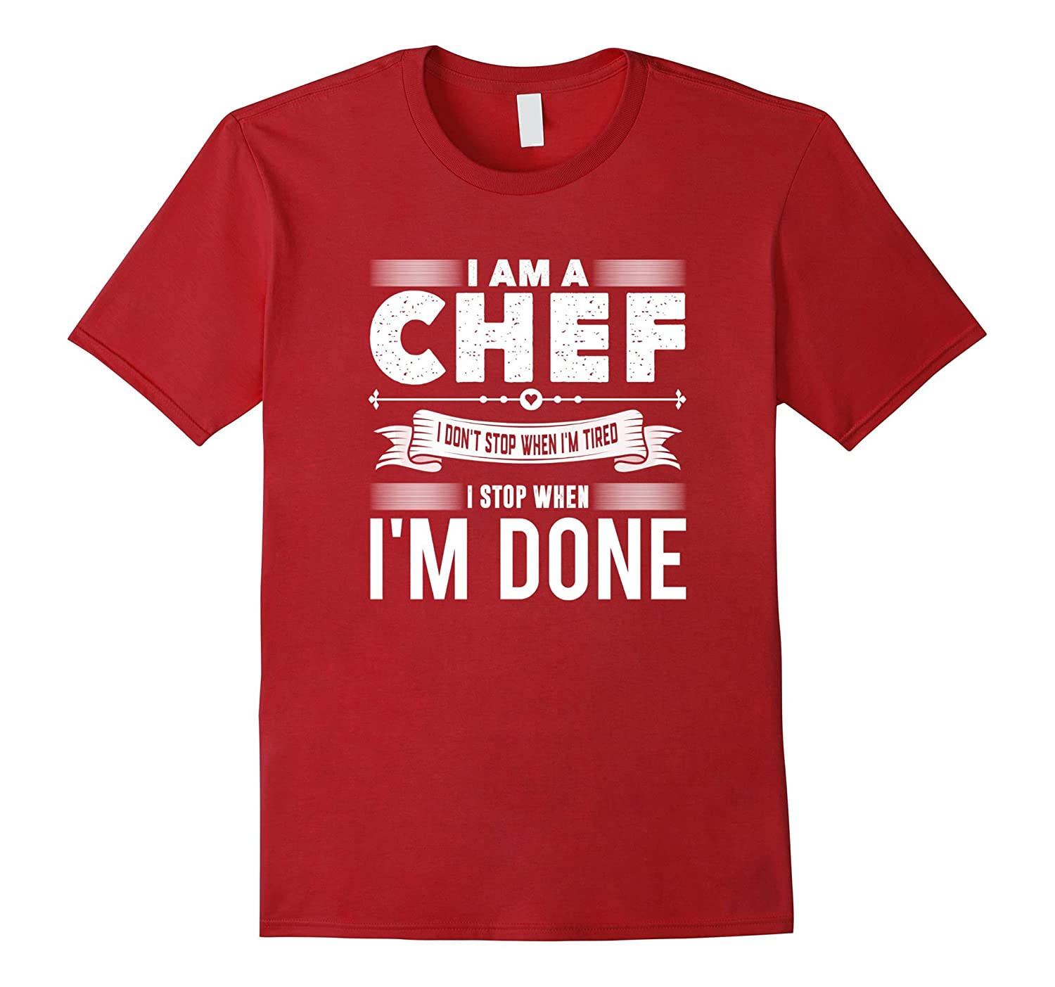 Am Chef Dont Stop T shirt-Tovacu