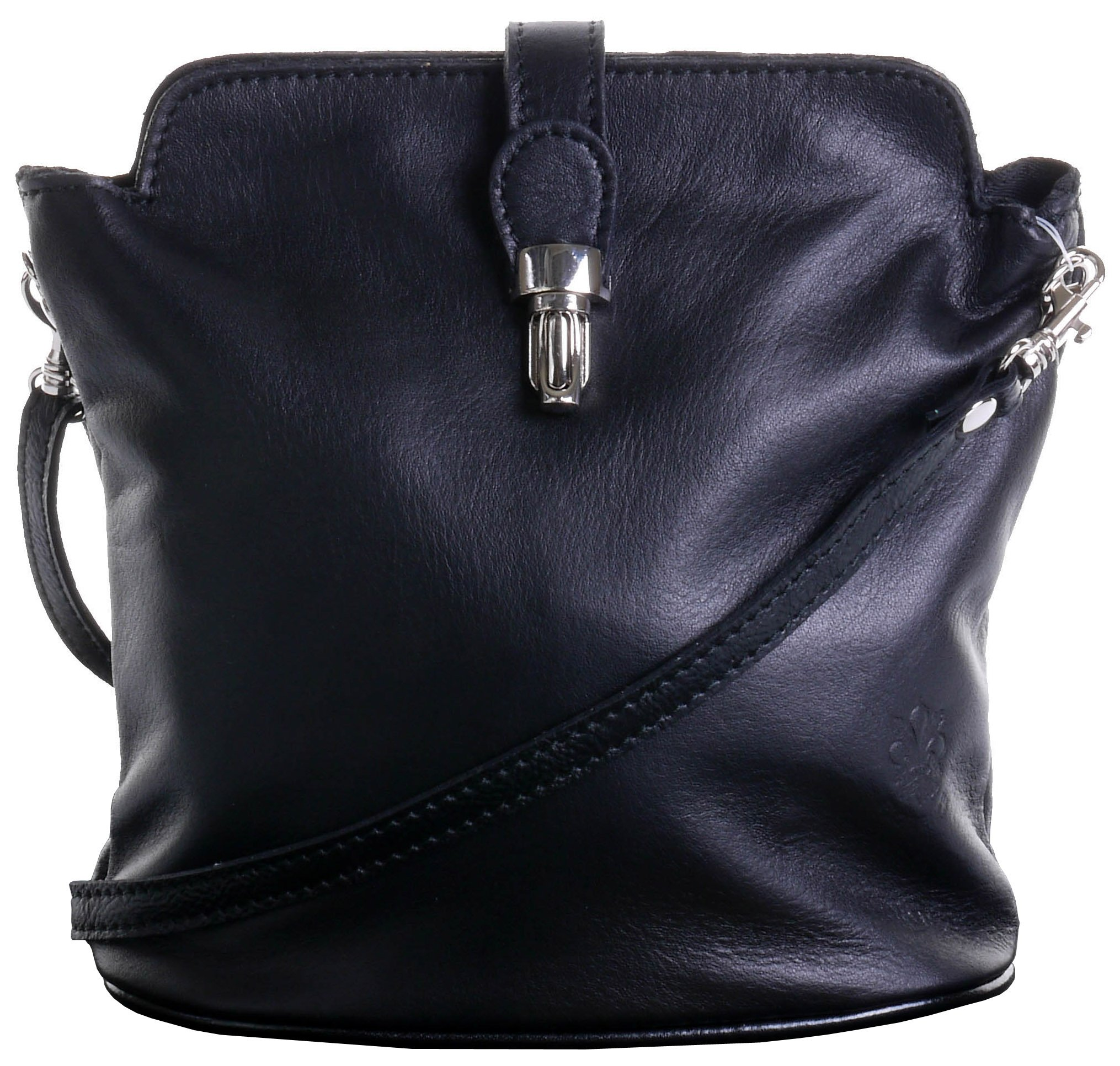 3472e3bd7b49 Primo Sacchi® Italian Leather Hand Made Adjustable Strap Cross Body or Shoulder  Bag Handbag.