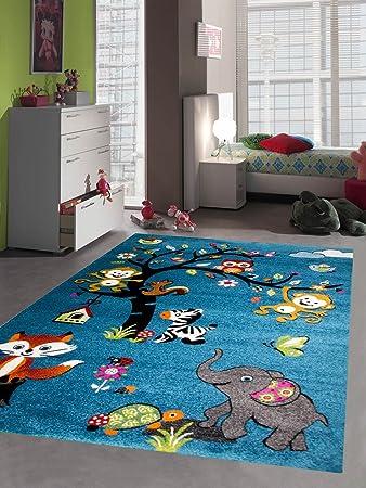 Kinderteppich elefant  Amazon.de: Kinderteppich Spielteppich Kinderzimmer Teppich ...