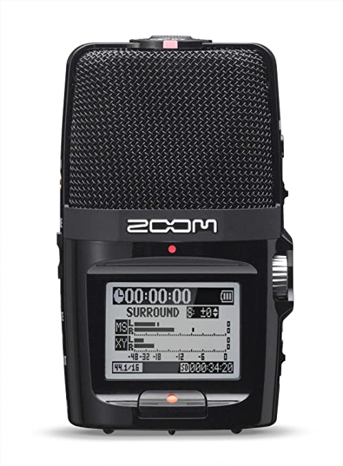 c46b5d8cd8 Zoonm H2N Handy Recorder (Black)  Amazon.in  Musical Instruments