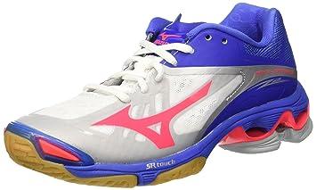 Zapatos Mujer Mizuno Wave Lightning Z2 blanco/rosa/azul, Bianco (White/Divapink/Dazzlingblue), 37: Amazon.es: Deportes y aire libre
