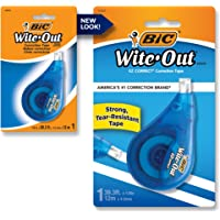 BIC Wite Out Correction Tape - Pack of 1 Correction Tape