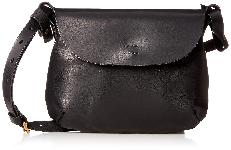 [スロウ] ショルダーバッグ herbie flap shoulder bag S 49S124G B075LDZHHZ ブラック ブラック