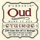 D'Addario Jeu de 11 cordes pour Oud D'Addario J95